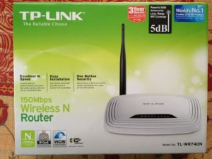 TP-LINK 150Mbps Wireless N Router 1