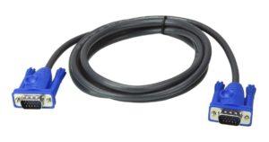 VGA 15 Pin to VGA 15 Pin Male Cable 5M for TFT LCD LED Monitor 1