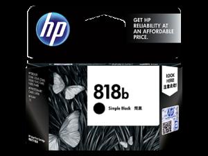 HP 818b Simple Black Original Ink Cartridge 1