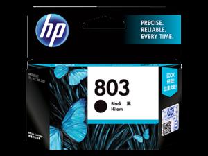 HP 803 Black Original Ink Cartridge 1