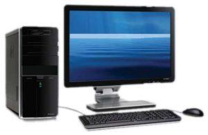 ASSEMBLED CPU CORE2DUO / 2GB RAM / 320 GB HDD / 15 Monitor 1